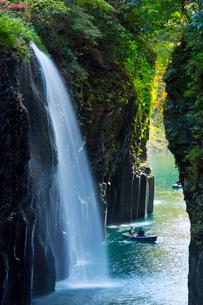 高千穂峡真名井の滝の写真素材 [FYI01746733]