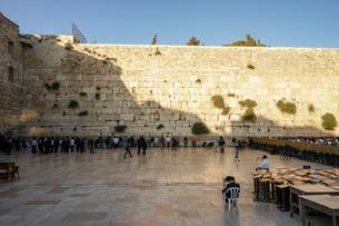イスラエル,エルサレムの嘆きの壁の写真素材 [FYI01746843]