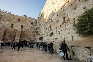 イスラエル,エルサレムの嘆きの壁の写真素材 [FYI01746854]
