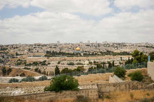 イスラエル,エルサレムのエルサレム神殿の写真素材 [FYI01746872]