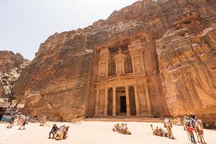 ヨルダン,ペトラ遺跡の写真素材 [FYI01747026]