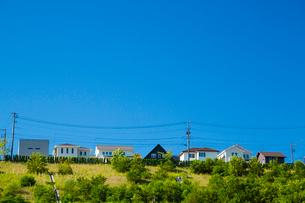 団地の住宅の写真素材 [FYI01747091]