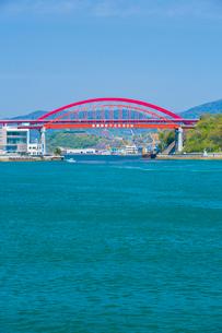 音戸大橋と第二音戸大橋の写真素材 [FYI01747249]