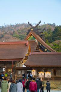 出雲大社の初詣の写真素材 [FYI01747261]
