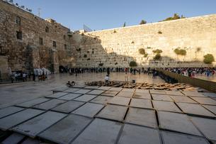 イスラエル,エルサレムの嘆きの壁の写真素材 [FYI01747332]