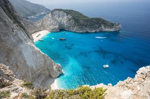 ギリシア ザキントス島の写真素材 [FYI01747371]