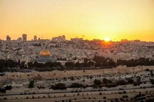 イスラエル,エルサレムのエルサレム神殿の写真素材 [FYI01747401]