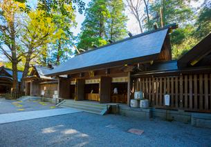 天岩戸神社の西本宮の写真素材 [FYI01747478]