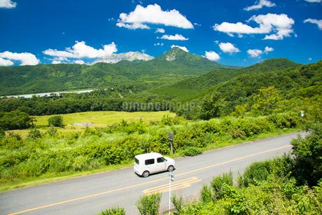 大山と烏ヶ山の写真素材 [FYI01747495]
