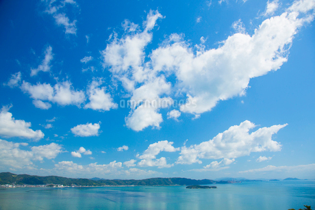 鷲羽山より瀬戸内海の写真素材 [FYI01747637]
