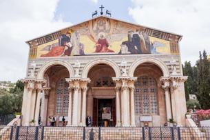 イスラエル,エルサレムのマグダラのマリア教会の写真素材 [FYI01747638]