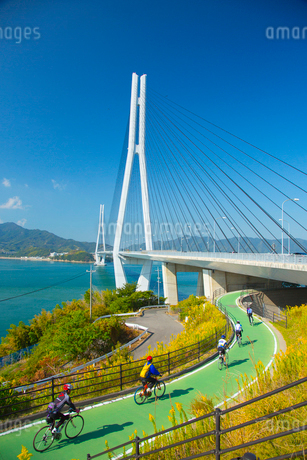 しまなみ海道多々羅大橋の写真素材 [FYI01747687]