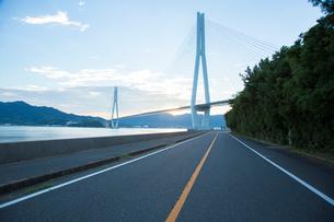 しまなみ海道多々羅大橋の写真素材 [FYI01747695]