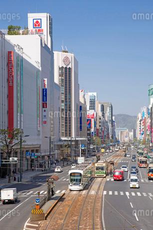広島市の胡町より相生通りの写真素材 [FYI01747764]