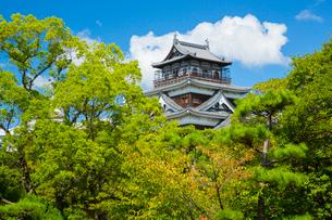 広島城の天守の写真素材 [FYI01747775]