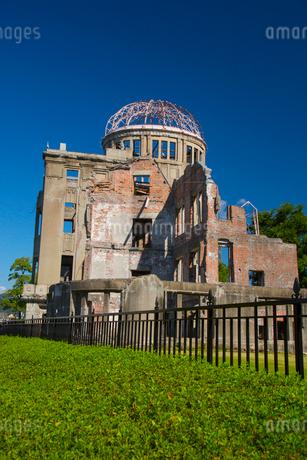 平和のシンボル原爆ドームの写真素材 [FYI01747784]