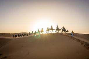 サハラ砂漠の写真素材 [FYI01747791]