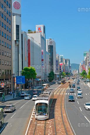 広島市相生通りの街並みの写真素材 [FYI01747817]