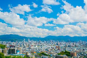 広島市の街並みの写真素材 [FYI01747875]