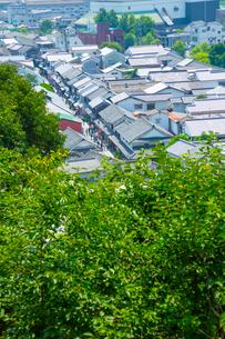 倉敷美観地区の町並みの写真素材 [FYI01748192]