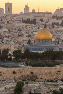 イスラエル,エルサレムのエルサレム神殿の写真素材 [FYI01748287]