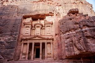 ヨルダン,ペトラ遺跡の写真素材 [FYI01748312]