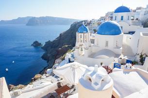 ギリシア サントリーニ島の写真素材 [FYI01748331]