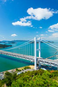 鷲羽山より瀬戸大橋の写真素材 [FYI01748361]