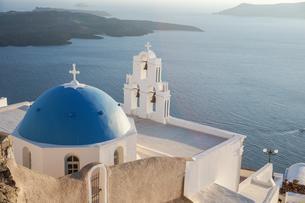 ギリシア サントリーニ島の写真素材 [FYI01748379]