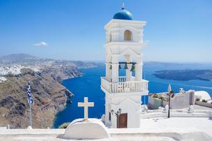 ギリシア サントリーニ島の写真素材 [FYI01748418]