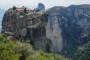 ギリシア メテオラ修道院群の写真素材 [FYI01748442]
