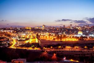 イスラエル,エルサレムのエルサレム神殿の写真素材 [FYI01748609]