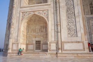 インド タージ・マハルの写真素材 [FYI01748628]