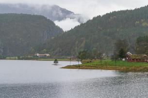 ノルウェー郊外の写真素材 [FYI01749006]