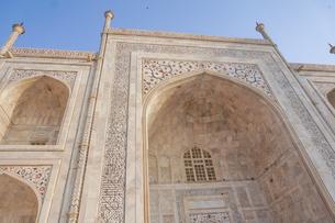 インド タージ・マハルの写真素材 [FYI01749339]