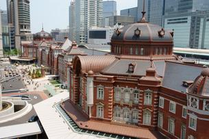 東京駅 丸の内駅舎の写真素材 [FYI01749370]