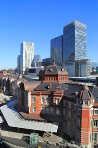 東京駅丸の内駅舎の写真素材 [FYI01749430]
