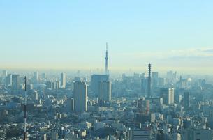 東京スカイツリーと都市風景の写真素材 [FYI01749506]