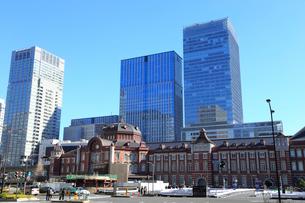 復元された東京駅丸の内駅舎の写真素材 [FYI01749569]