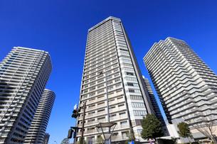 横浜みなとみらい地区の高層ビルの写真素材 [FYI01749585]