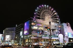 名古屋・栄の観覧車の写真素材 [FYI01749631]