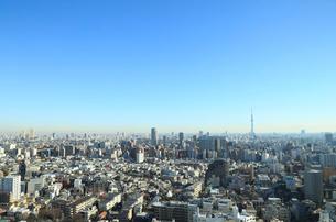 東京スカイツリーと都市風景の写真素材 [FYI01749690]