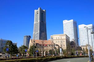 横浜ランドマークタワーの写真素材 [FYI01749755]