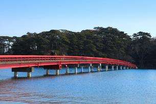 松島の福浦橋(出会い橋)の写真素材 [FYI01749907]