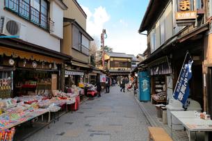 小江戸川越の菓子屋横丁の写真素材 [FYI01749913]