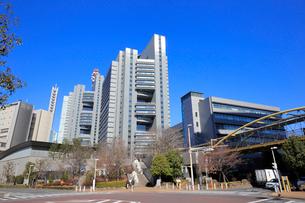 さいたま新都心の都市風景の写真素材 [FYI01749915]
