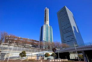 NTTドコモさいたまビルと明治安田生命ランドアクシスタワーの写真素材 [FYI01749925]