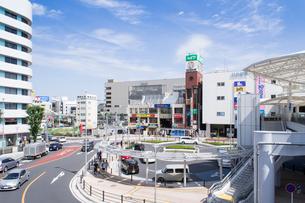 川越駅西口駅前広場の写真素材 [FYI01749962]