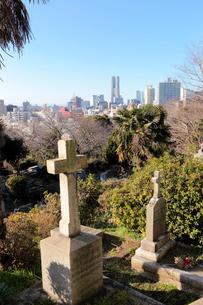 横浜外国人墓地の写真素材 [FYI01749993]