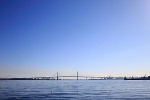 横浜ベイブリッジの写真素材 [FYI01750004]